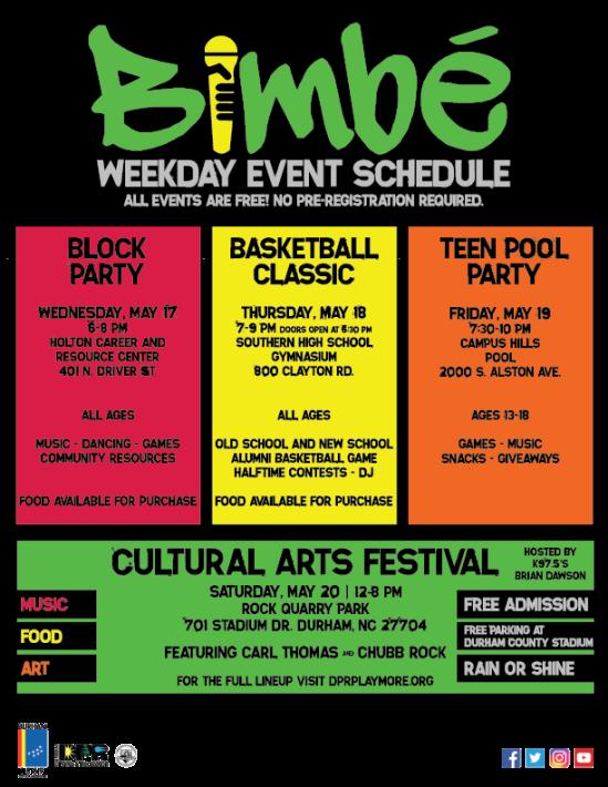 The 48th Annual Bimbe Cultural Arts Festival May 20th